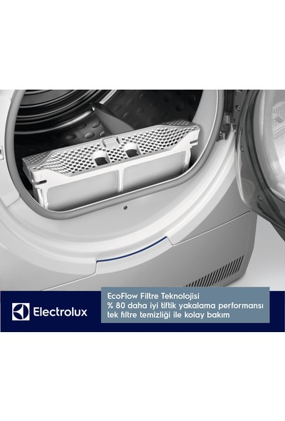 Electrolux EW7H458ST A++ 8kg Camasır Kurutma Makınesı