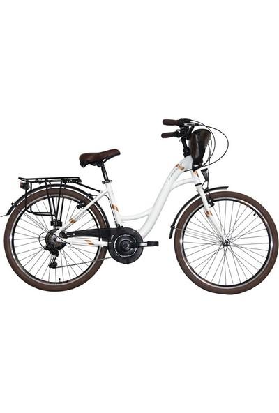 Ümit Bisiklet Ümit Valencıa 26 Jant 430'' V Firen Bayan Bisikleti-Beyaz