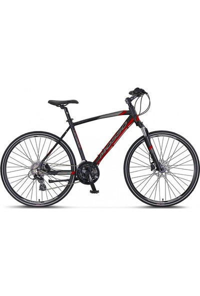 Mosso Legarda 2121 Msm 28 Jant Hd 46K 21V Trekking Siyah-Kırmızı