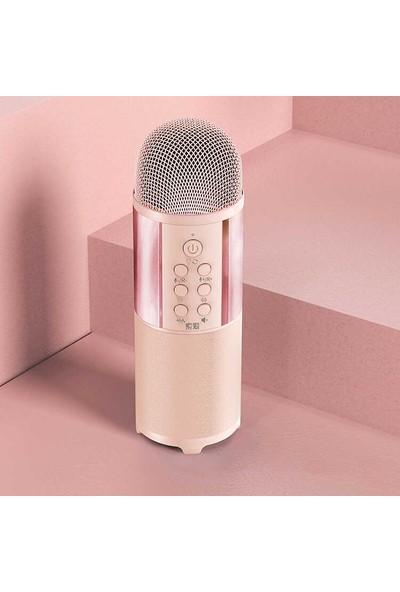 MobaxAksesuar Karaoke Mikrofon Müzik Şarkı Eğlence Soaiy MC12