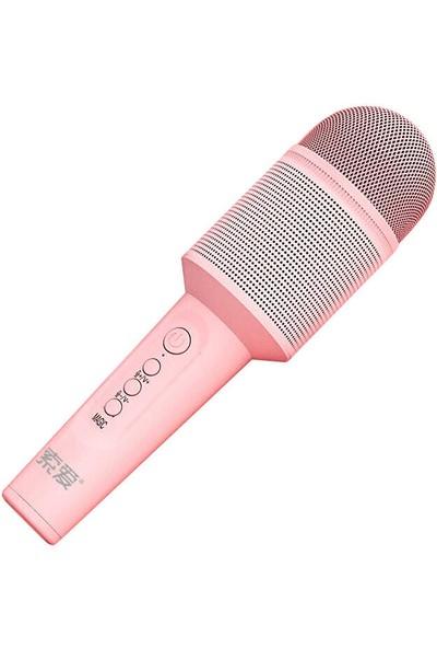MobaxAksesuar Karaoke Mikrofon Müzik Şarkı Eğlence Soaiy Mc8