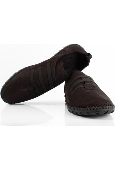 Bruno Shoes D-315KA Erkek Gunluk Kaucuk Taban Ayakkabı