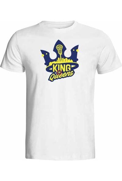 Hediye Panayırı King Of Queens Baskılı Tişört Model 1