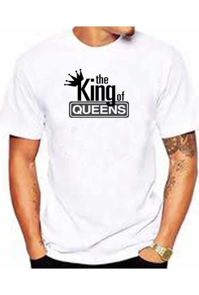 Hediye Panayırı King Of Queens Baskılı Tişört Model 3