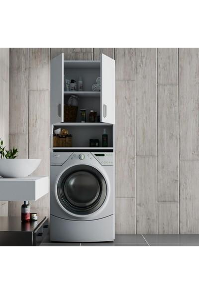 Design Bark Çamaşır Makinası Dolabı