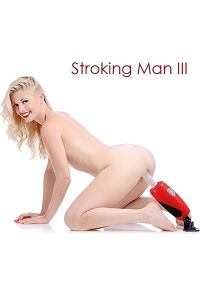 Pretty Love Stroking 3 Otomarik Uzaktan Kumandalı Seks Makinası Vibratör