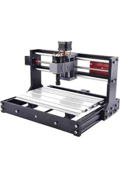 CNC3018 Pro ER11 5500MW Lazerli Cnc Makinesi 18X30X4.5 cm
