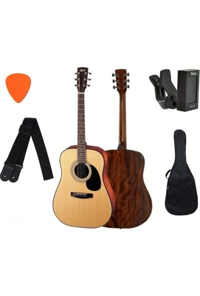 Cort AD810OP Akustik Gitar Set (Askı + Akort Cihazı + Kılıf + Pena)