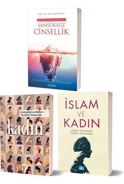 Sansürsüz Cinsellik & Islam ve Kadın & Kadın 3 Kitap Set