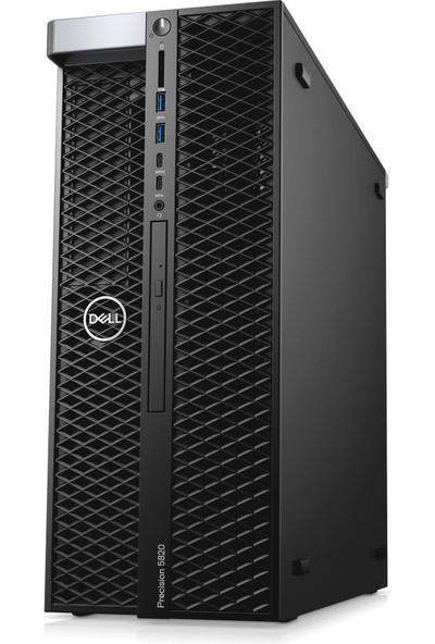 Dell Precision T5820 Intel Xeon W 2225 64GB 2TB HDD + 512GB SSD P1000 Windows 10 Pro Masaüstü Iş Istasyonu TKNT5820RKS25A16