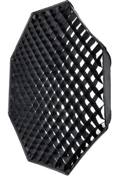 Gdx Bw-95 Octagon Izgaralı Gridli Softbox 95 cm Bowens
