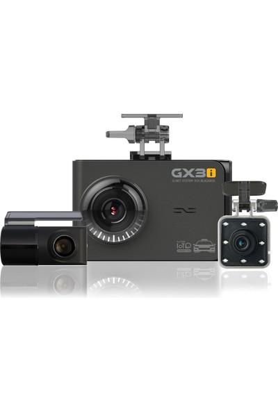 Gnet Gx3I 3 Kameralı 60Fps Fullhd Ekranlı Wi-Fi Araç Kamerası