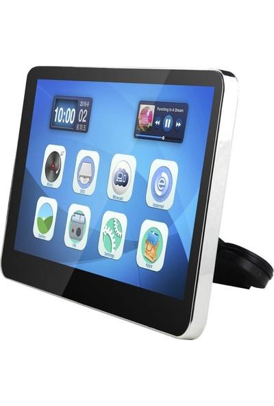 Raymos Monitör 10.1 Android USB/SD/DVD/HDMI/FM/Ir Koltuk Başlık RYM-1002 An