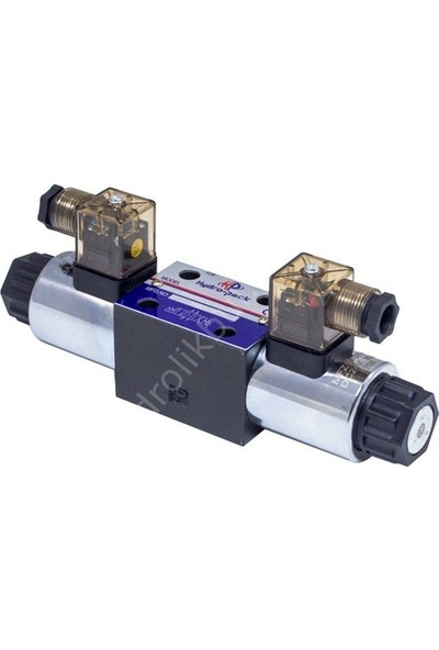 Hydro-Pack RH06021 - Ng6 Çift Bobinli Tandem Merkez 24 V Dc 4/3 Solenoid Valf