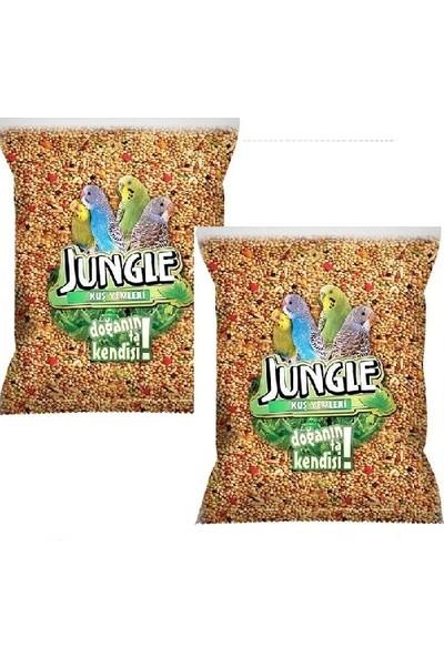 Jungle Poşet Muhabbet Kuşu Yemi 1 Kg-2'li