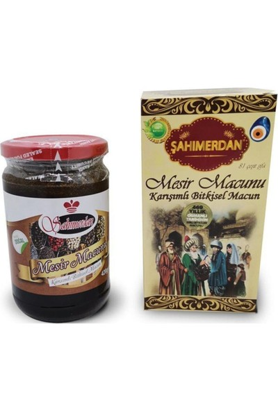 Şahımerdan Manisa Mesir Macunu 420 gr