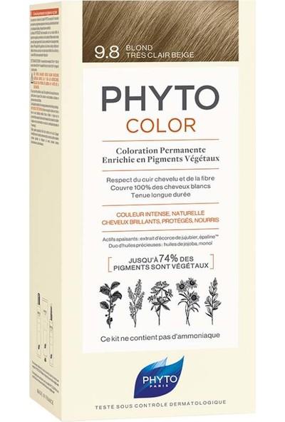 Phyto Phytocolor 9.8 Bitkisel Saç Boyası Açık Sarı Bej