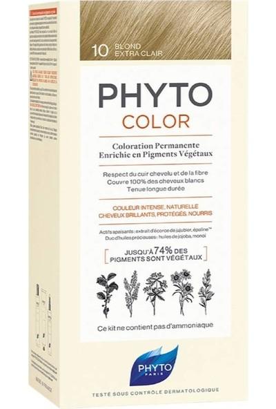Phyto Phytocolor 10 Bitkisel Saç Boyası Çok Açık Sarı