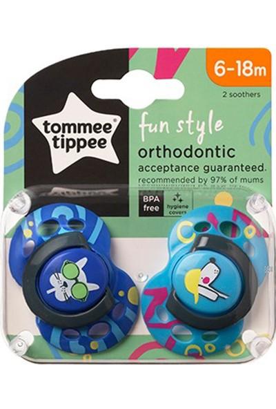 Tommee Tippee Fun Style Ortodontik Emzik 2'li 6-18 Ay