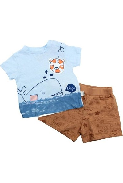 Çimpa Boze Tongs Baby Under The Sea 2li Bebe Takım 2852 Kahve