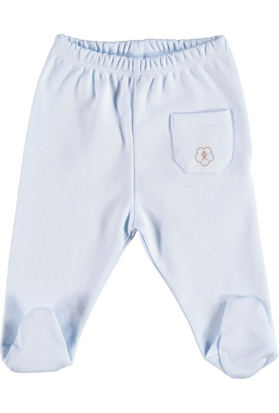 Albimini Boze Bibaby Bi Organik Basic Patikli Pantolon 57499 Mavi