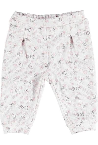 Albimini Boze Bibaby Pink Clover Patiksiz Tek Alt Pantolon 57485 Ekru