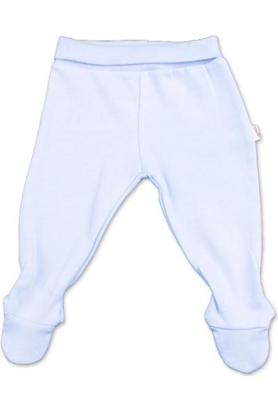 Albimini Boze Albimini Minidamla Penye Patikli Pantolon 43002 Mavi