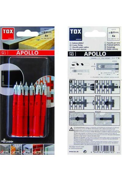 Tox 8X80 Vlf-S1 Apollo Çok Amaçlı Çerçeve Dübeli 6 Adet (049 701 13 1)