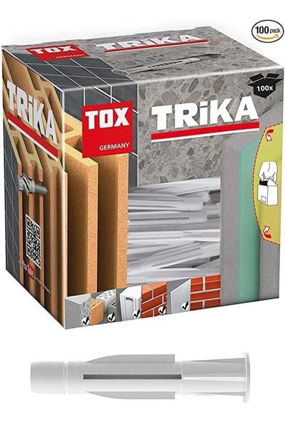 Tox 10X61 Trika Vidalı Çok Amaçlı Dübel (011 701 16 1) 4 Adet