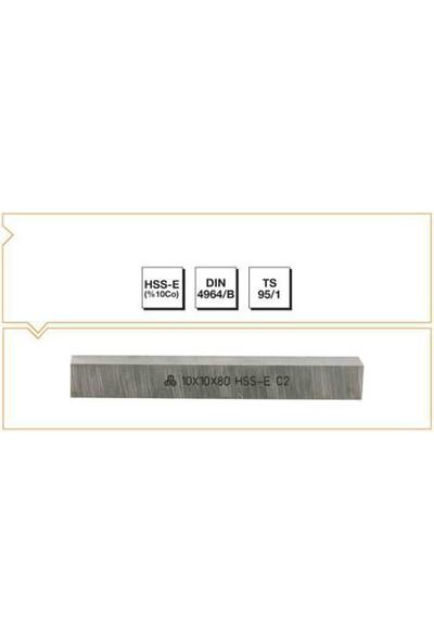 MTE Makina Takım 6X6X63 Hss - E (%10CO) Dın 4964/B Kare Kesitli Torna Kalemi