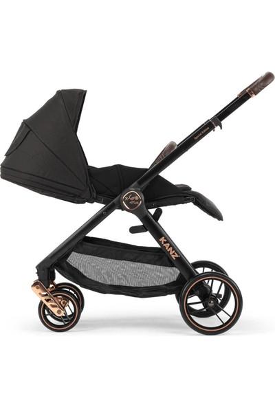 Kanz X-Go Plus Rose Gold Travel Sistem Bebek Arabası Siyah