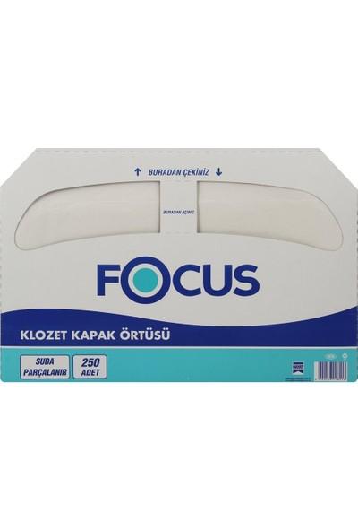 Focus Extra Klozet Kapak Örtüsü 250'LI x 10 Paketli Koli