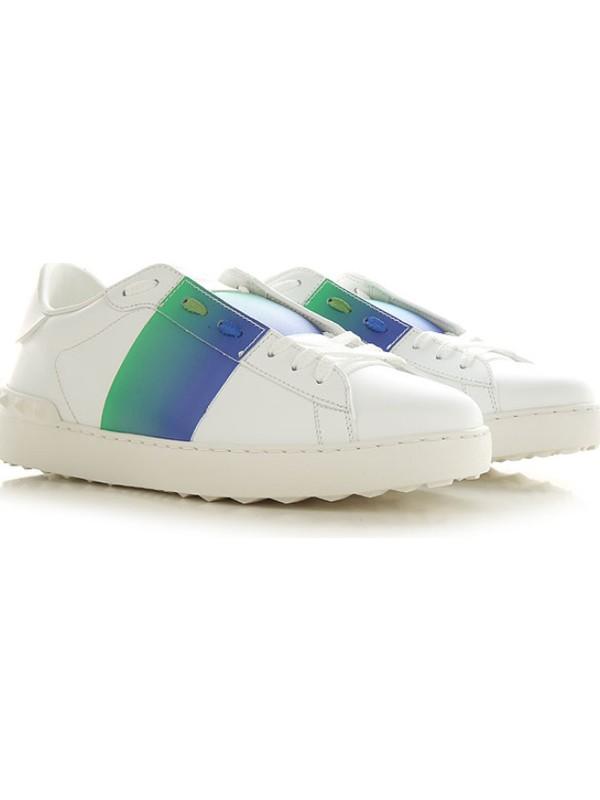 Valentino Garavanı Open Sneaker In White LEATHER.VY2S0830 Grk 27F