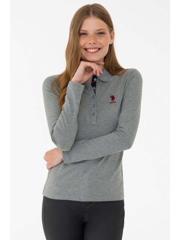 U.S. Polo Assn. Gri Sweatshirt Basic 50205969-VR086