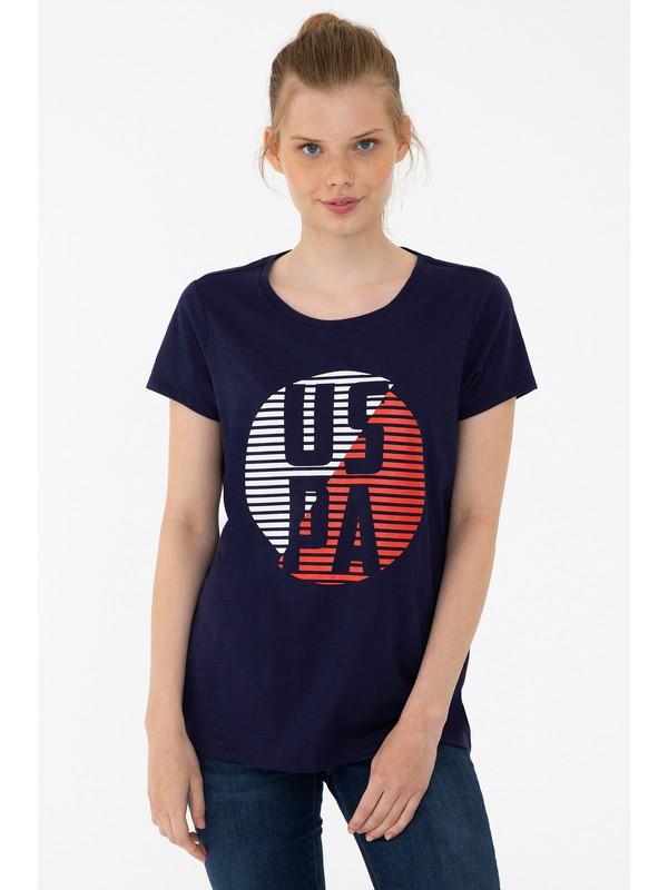 U.S. Polo Assn. Lacivert T-Shirt 50240282-VR033