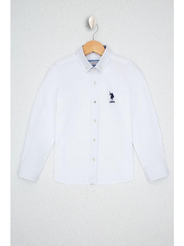 U.S. Polo Assn. Beyaz Gömlek Uzunkol 50213692-VR013