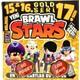 Brawl Stars Oyun Kartı - 15. 16. 17. Seri - 50 Poşet - 100 Kart