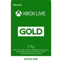 Xbox Lıve Gold 3 Ay Üyelik Kodu (Global Code)