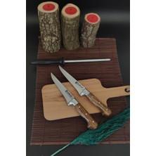 Sürlaz 2'li Kurban Sıyırma Bıçağı Masat