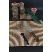 Sürlaz Ultra Keskin 30 cm Bıçak + Masat