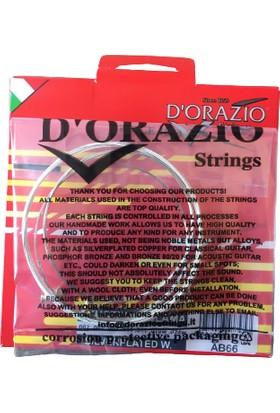 Dorazio 0,18 Saz Teli - Kısa Sap Bağlama Teli (Topuzlu)