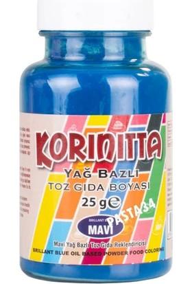 Korinitta Yağ Bazlı Gıda Boyası Mavi 25 gr