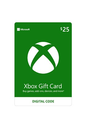 Xbox Live Gift Card 25 USD / 25 DOLAR (US) United States