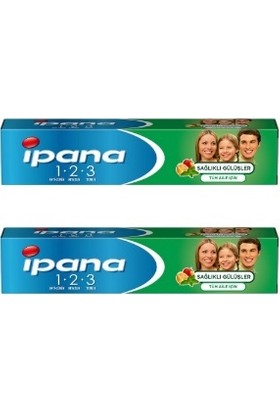 İpana Sağlıklı Gülüşler Diş Macunu 100 ml x 2 Adet