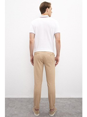 U.S. Polo Assn. Erkek Slim Fit Pantolon 614974468 Camel