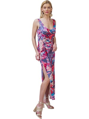 Şeilamia Flora Atlet Elbise Mix