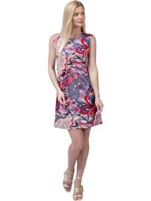 Şeilamia Giada Sıfır Kol Kısa Elbise Mix