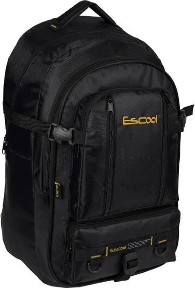 Escool Siyah Dağcı Sırt Çantası Unisex 55 Litre Kapasiteli 2530