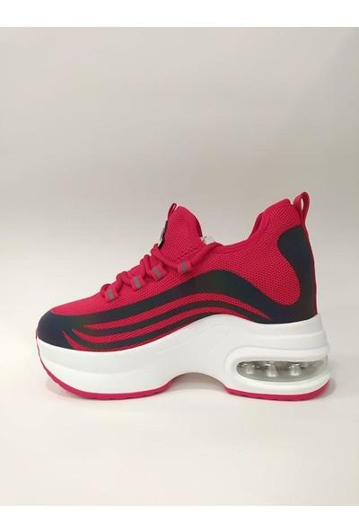 Guja 20Y308-5 Kadın Gizli Topuk Yüksek Taban Spor Ayakkabı