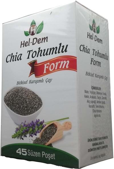 Hel-Dem Chia Tohumlu Çay 45 Süzen Poşet